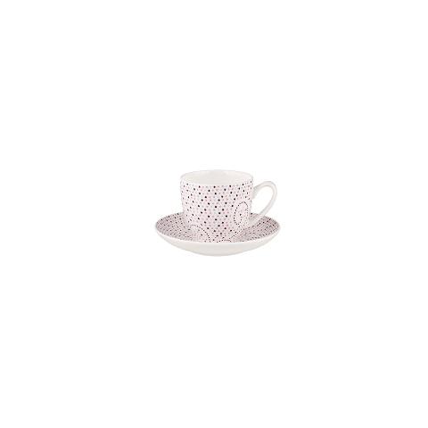 Набор кофейных пар (4 шт)Чайные пары, чашки и кружки<br>MIKASA по праву считается одним из мировых лидеров по производству столовой посуды из фарфора и керамики. На протяжении более полувека категории качества и дизайна являются неотъемлемой частью бренда MIKASA. Сегодня MIKASA сотрудничает со многими известными дизайнерами, работающими для лучших фабрик мира, и использует самые передовые технологии в производстве посуды. Все продукты бренда  MIKASA безупречны с точки зрения дизайна и исполнения. Благодаря огромному стилистическому разнообразию каждый может выбрать для себя подходящую коллекцию. Несмотря на впечатляющее число конкурентов в области производства столовой посуды, компания MIKASA уже много лет находится в верхних строках списков лидеров мирового масштаба. Изготовленная под именем марки посуда представляет собой безукоризненное совершенство дизайна, сочетаемое с безупречным качеством.&amp;lt;div&amp;gt;&amp;lt;br&amp;gt;&amp;lt;/div&amp;gt;&amp;lt;div&amp;gt;Объем: 90 мл.&amp;lt;br&amp;gt;&amp;lt;/div&amp;gt;<br><br>Material: Фарфор