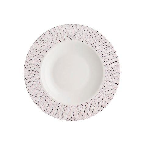 Тарелка глубокаяТарелки<br>MIKASA по праву считается одним из мировых лидеров по производству столовой посуды из фарфора и керамики. На протяжении более полувека категории качества и дизайна являются неотъемлемой частью бренда MIKASA. Сегодня MIKASA сотрудничает со многими известными дизайнерами, работающими для лучших фабрик мира, и использует самые передовые технологии в производстве посуды. Все продукты бренда  MIKASA безупречны с точки зрения дизайна и исполнения. Благодаря огромному стилистическому разнообразию каждый может выбрать для себя подходящую коллекцию. Несмотря на впечатляющее число конкурентов в области производства столовой посуды, компания MIKASA уже много лет находится в верхних строках списков лидеров мирового масштаба. Изготовленная под именем марки посуда представляет собой безукоризненное совершенство дизайна, сочетаемое с безупречным качеством.<br><br>Material: Фарфор<br>Diameter см: 23
