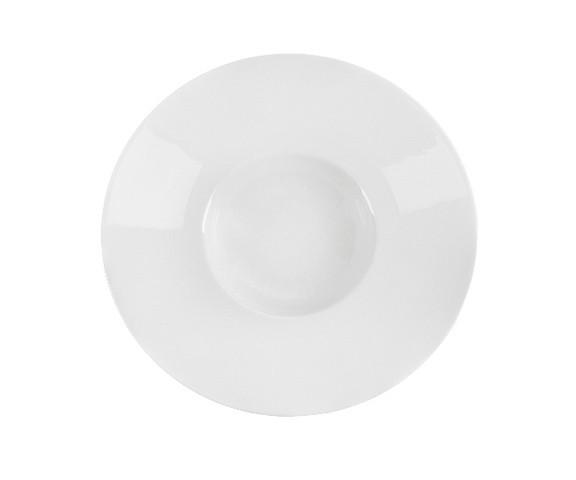 ТарелкаТарелки<br>Фарфоровая посуда бренда Chef&amp;amp;amp;Sommelier (Франция) - новинка от компании ARC Int. на российском рынке. Она предназначена для заведений высокой ценовой категории, ресторанов Fine Dining, отелей премиум - класса. Посуда изготавливается по уникальной технологии из фарфора Maxima. Это запатентованный материал, отличающийся повышенной механической прочностью. имеющий нежный молочный оттенок. В концепцию дизайна заложена мировая тенденция на смешение стилей, форм и материалов. Поверхность изделий украшена&amp;amp;nbsp;&amp;lt;span style=&amp;quot;line-height: 24.9999px;&amp;quot;&amp;gt;оригинальным тиснением и сочетанием глянцевой и матовой глазури, которую наносят по особой технологии Mat&amp;amp;amp;Shiny. Комбинация различных предметов этих коллекций позволяет создавать необыкновенные дизайн сервировки стола.&amp;lt;/span&amp;gt;<br><br>Material: Фарфор<br>Diameter см: 31