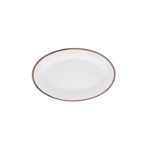 Блюдо для закусокДекоративные блюда<br>MIKASA по праву считается одним из мировых лидеров по производству столовой посуды из фарфора и керамики. На протяжении более полувека категории качества и дизайна являются неотъемлемой частью бренда MIKASA. Сегодня MIKASA сотрудничает со многими известными дизайнерами, работающими для лучших фабрик мира, и использует самые передовые технологии в производстве посуды. Все продукты бренда  MIKASA безупречны с точки зрения дизайна и исполнения. Благодаря огромному стилистическому разнообразию каждый может выбрать для себя подходящую коллекцию. Несмотря на впечатляющее число конкурентов в области производства столовой посуды, компания MIKASA уже много лет находится в верхних строках списков лидеров мирового масштаба. Изготовленная под именем марки посуда представляет собой безукоризненное совершенство дизайна, сочетаемое с безупречным качеством.<br><br>Material: Фарфор<br>Diameter см: 22