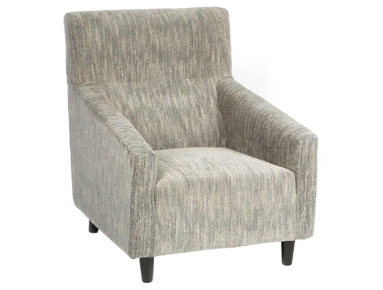 Кресло CHAIRИнтерьерные кресла<br>Это кресло приведет в восторг ценителей сдержанной элегантности. Его необычное оформление в винтажном стиле основывается на классическом силуэте строгой геометрии. Ретро-очертания благодаря нейтральной обивке серо-бежевого цвета выглядят более мягкими и плавными. Такое кресло на невысоких ножках станет прекрасным дополнением для гостиных или рабочих кабинетов.<br><br>Material: Текстиль<br>Width см: 77<br>Depth см: 89<br>Height см: 92