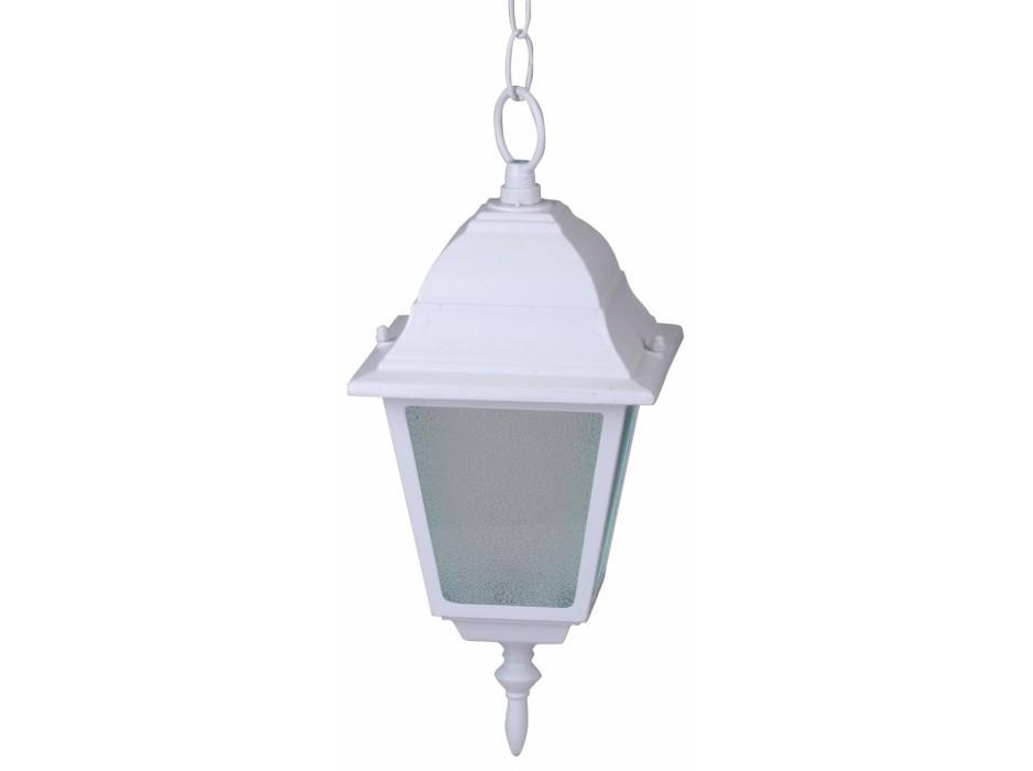 Уличный светильникУличные подвесные и потолочные светильники<br>Вид цоколя: E27Мощность лампы: 60WКоличество ламп: 1Наличие ламп: нет