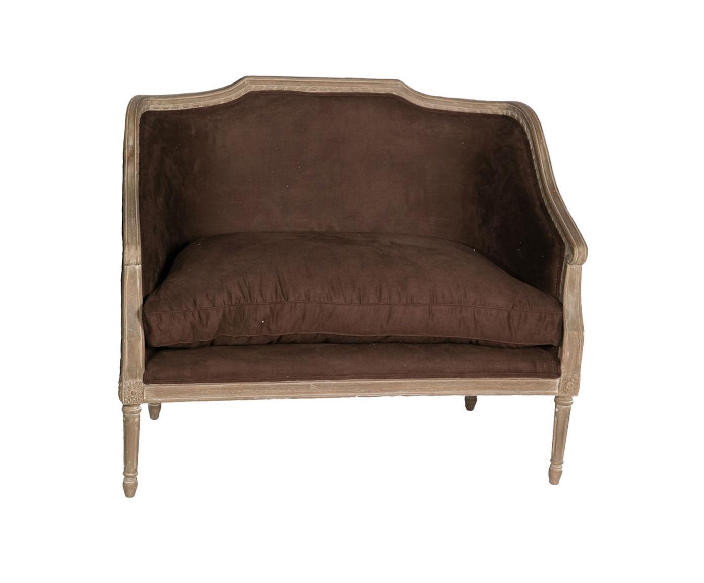 ДиванеткаДвухместные диваны<br>&amp;lt;div&amp;gt;Диванетка ? предмет меблировки императорских дворцов. Среднее арифметическое между диваном и креслом, она может быть роскошна. Например, эта модель с резным каркасом красного дерева и обивкой из мягкого велюра необычного зеленого оттенка с золотым отливом. Или все же золотого с зеленым отливом?&amp;lt;/div&amp;gt;<br><br>Material: Велюр<br>Length см: 130<br>Width см: 75<br>Depth см: None<br>Height см: 88<br>Diameter см: None