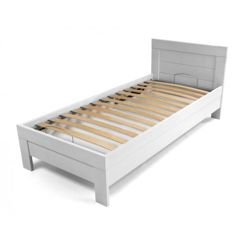 Кровать Woody BOXДеревянные кровати<br>Кровать из древесины бука с Latoflex рейками в металлическом каркасе и пространством для постельных принадлежностей.&amp;lt;div&amp;gt;&amp;lt;br&amp;gt;&amp;lt;/div&amp;gt;&amp;lt;div&amp;gt;Размер спального места: 90х200 см&amp;lt;/div&amp;gt;<br><br>Material: Бук<br>Length см: 215<br>Width см: 99<br>Height см: 85
