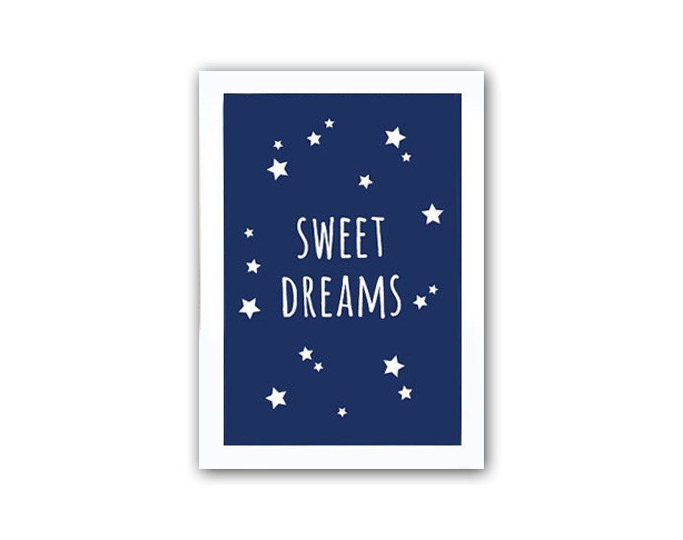 "DG Постер ""Sweet dreams boys"""