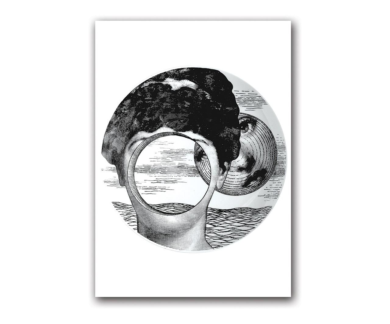 Постер Fornasetti inspiredПостеры<br>Декорированные постерами интерьеры комнат, городской квартиры или загородного дома не уступают по качеству интерьерам, оформленным дорогими репродукциями картин. Тем более, если эти постеры из коллекции Пьеро Форназетти. Его произведения всегда узнаваемы — это тот редкий тип  дизайнеров, которые обладают собственным неповторимым стилем. Его  излюбленные темы — солнце, игральные карты, рыбы, бабочки, книги,  архитектура и лицо прекрасной Лины Кавальери. Постер станет прекрасным украшением интерьера и замечательным подарком поклонникам творчества маэстро Форназетти.&amp;amp;nbsp;&amp;lt;div&amp;gt;&amp;lt;br&amp;gt;&amp;lt;/div&amp;gt;&amp;lt;div&amp;gt;Размер А4 (210x297 мм).<br>Рамки белого, чёрного, серебряного, золотого цветов. Выбирайте!&amp;lt;/div&amp;gt;<br><br>Material: Бумага<br>Width см: 21<br>Depth см: 1,5<br>Height см: 30