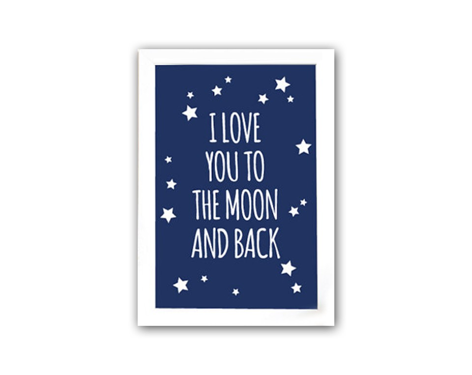 Постер To the blue moon and backПостеры<br>Постеры для интерьера сегодня являются одним из самых популярных украшений для дома. Они играют декоративную роль и заключают в себе определённый образ, который будет отражать вашу индивидуальность и создавать атмосферу в помещении. При этом их основная цель — отображение стиля и вкуса хозяина квартиры. При этом стиль интерьера не имеет значения, они прекрасно будут смотреться в любом. С ними дизайн вашего интерьера станет по-настоящему эксклюзивным и уникальным, и можете быть уверены, что такой декор вы не увидите больше нигде. А ваши гости будут восхищаться тонким вкусом хозяина дома.<br>В нашем интернет-магазине представлен большой ассортимент настенных декоративных постеров: ироничные и забавные, позитивные и мотивирующие, на которых изображено все, что угодно — красивые пейзажи и фотографии животных, бижутерия и лейблы модных брендов, фотографии популярных персон и рекламные слоганы.&amp;amp;nbsp;&amp;lt;div&amp;gt;&amp;lt;br&amp;gt;&amp;lt;/div&amp;gt;&amp;lt;div&amp;gt;Размер А3 (297x420 мм). Рамки белого, черного, серебряного, золотого цветов. Выбирайте!&amp;lt;/div&amp;gt;<br><br>Material: Бумага<br>Width см: 30<br>Depth см: 1,5<br>Height см: 42