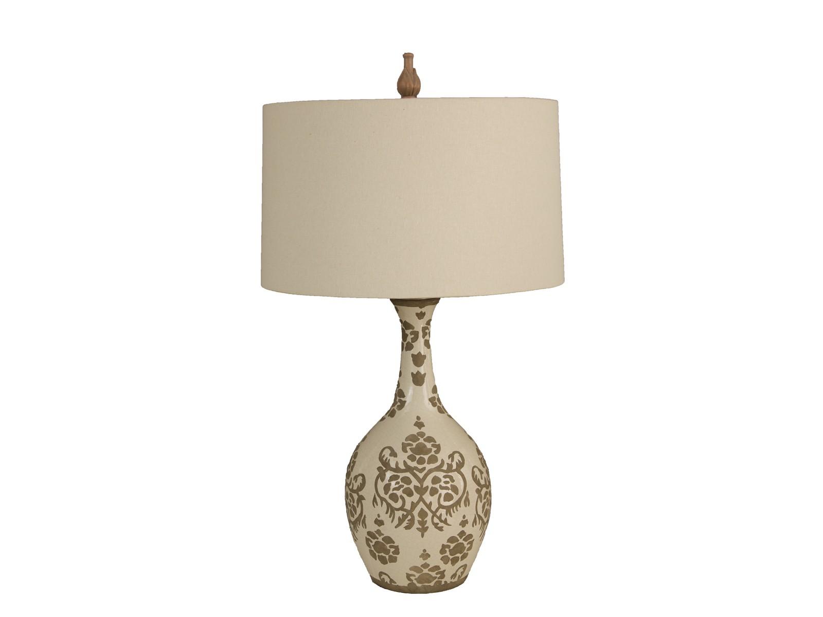Настольная Лампа Taupe Silhouette VaseДекоративные лампы<br>&amp;lt;div&amp;gt;Вид цоколя: Е27&amp;lt;/div&amp;gt;&amp;lt;div&amp;gt;Мощность лампы: 60W&amp;lt;/div&amp;gt;&amp;lt;div&amp;gt;Количество ламп: 1&amp;lt;/div&amp;gt;&amp;lt;div&amp;gt;Наличие ламп: нет&amp;lt;/div&amp;gt;<br><br>Material: Керамика<br>Height см: 86<br>Diameter см: 48