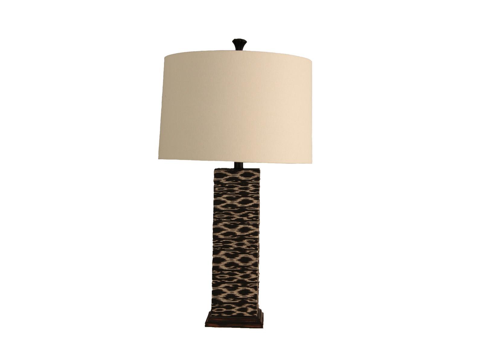 Настольная лампа Ikat SquareДекоративные лампы<br>&amp;lt;div&amp;gt;Вид цоколя: Е27&amp;lt;/div&amp;gt;&amp;lt;div&amp;gt;Мощность лампы: 60W&amp;lt;/div&amp;gt;&amp;lt;div&amp;gt;Количество ламп: 1&amp;lt;/div&amp;gt;&amp;lt;div&amp;gt;Наличие ламп: нет&amp;lt;/div&amp;gt;<br><br>Material: Лен<br>Height см: 80<br>Diameter см: 43