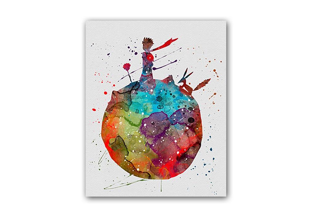 Постер Маленький принцПостеры<br>К декору детской комнаты необходимо подходить с не меньшей ответственностью, чем к интерьеру своей гостиной. Украшайте детские комнаты познавательными и добрыми, весёлыми и уютными постерами, они порадуют ребят и родителей, создадут необычайную атмосферу в доме. Дети всегда проявляют искренний интерес к настенным постерам — глядя на них, постоянно придумывают различные истории, проявляют свою фантазию. При выборе постера обязательно надо обратить внимание и на увлечения ребёнка.<br>Большое разнообразие постеров для детских комнат в нашем интернет-магазине позволит вам без труда подобрать подходящий сюжет и цветовую гамму. Вы сможете найти много познавательных постеров с алфавитом, разнообразными надписями и узорами, представителями флоры и фауны, персонажами любимых сказок и мультиков.<br>Купите детский постер в нашем интернет-магазине, он обязательно добавит хорошего настроения вашему малышу!&amp;amp;nbsp;&amp;lt;div&amp;gt;&amp;lt;br&amp;gt;&amp;lt;/div&amp;gt;&amp;lt;div&amp;gt;Размер А4 (210x297 мм). Рамки белого, черного, серебряного, золотого цветов. Выбирайте!&amp;lt;/div&amp;gt;<br><br>Material: Бумага<br>Width см: 21<br>Depth см: 1,5<br>Height см: 30