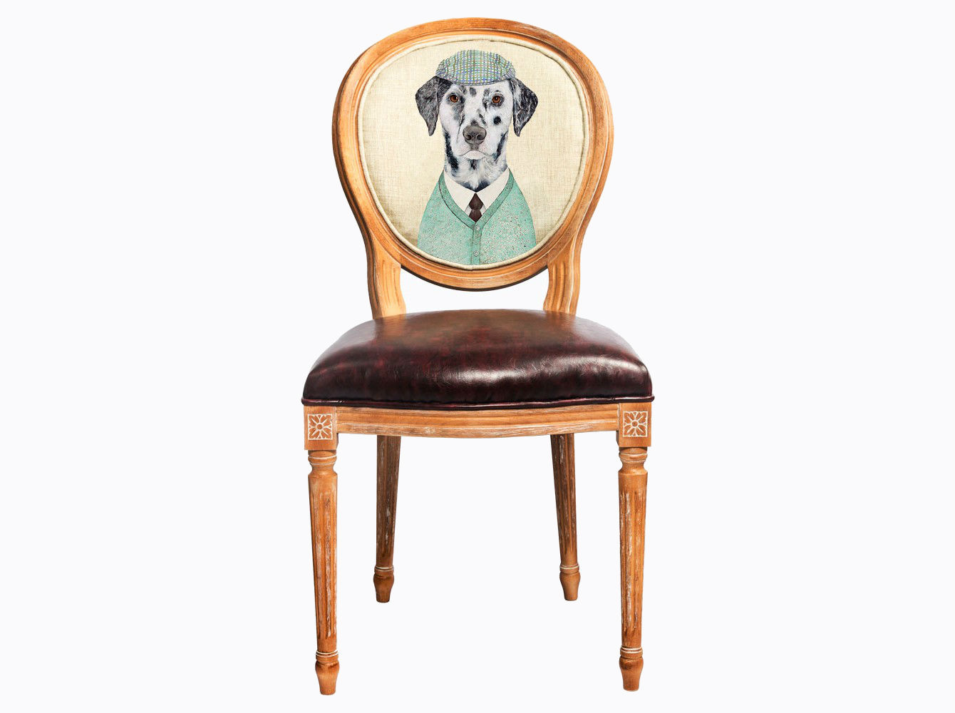Стул «Мистер Твистер»Обеденные стулья<br>Погружаясь в увлекательный сценарий интерьерного театра, не забывайте о практичности и долговечности Вашей мебели. Корпус стула &amp;quot;Мистер Твистер&amp;quot; изготовлен из натурального бука, древесина которого отличается крепостью и твёрдостью. Обивка спинки оснащена тефлоновым покрытием против пятен. Сиденье, укрепленное подвеской из эластичных ремней, обладает прочностью и истинным комфортом. Стул &amp;quot;Мистер Твистер&amp;quot; - универсальное, но отборное решение гостиной, столовой, спальни, кабинета, холла и детской комнаты.<br>Корпус стула изготовлен из натурального бука. Среди европейских пород бук считается самым прочным и долговечным материалом. В дизайне &amp;quot;Мистер Твистер&amp;quot; резьба играет ведущую роль: стул обильно украшен изящным цветочным узором, желобками и кольцами, выточенными с ювелирной меткостью.<br>Дизайн стула создан эффектом экстравагантных контрастных сочетаний. Блестящее шоколадное сиденье объединилось со светло-бежевой льняной спинкой, а королевский силуэт эпохи Луи-Филиппа - с рисунком в жанре современного фэнтези.<br>Приобретая такую модель, можно быть уверенными в её эклектичном единстве с роскошным &amp;quot;ренессансом&amp;quot; и изнеженным &amp;quot;ампиром&amp;quot;, аскетичным &amp;quot;модерном&amp;quot; и салонным &amp;quot;ар-деко&amp;quot;.&amp;lt;div&amp;gt;&amp;lt;br&amp;gt;&amp;lt;/div&amp;gt;&amp;lt;div&amp;gt;&amp;lt;span style=&amp;quot;line-height: 24.9999px;&amp;quot;&amp;gt;Материал обивки: экокожа.&amp;lt;/span&amp;gt;&amp;lt;br&amp;gt;&amp;lt;/div&amp;gt;<br><br>Material: Дерево<br>Width см: 47<br>Depth см: 50<br>Height см: 98