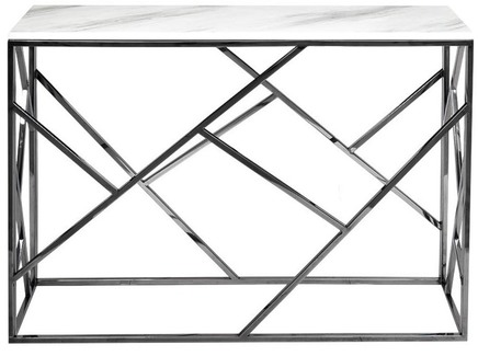 Консоль (garda decor) белый 115x78x30 см.