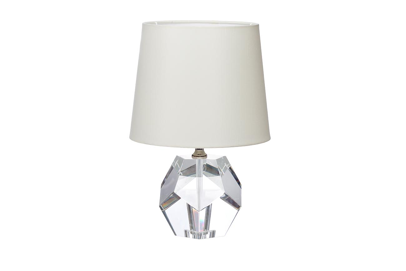 Лампа настольнаяДекоративные лампы<br>&amp;lt;div&amp;gt;Цоколь: E27&amp;lt;/div&amp;gt;&amp;lt;div&amp;gt;Мощность лампы: 60W&amp;lt;/div&amp;gt;&amp;lt;div&amp;gt;Количество ламп: 1&amp;lt;/div&amp;gt;<br><br>Material: Хрусталь<br>Width см: None<br>Height см: 40,5<br>Diameter см: 26