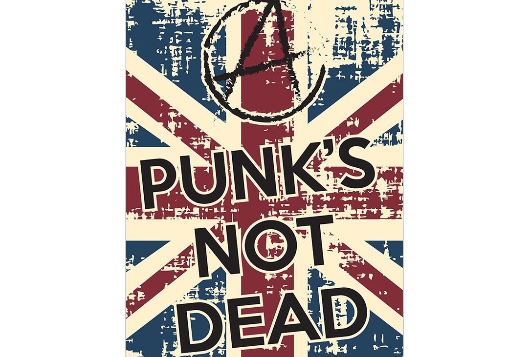 Постер Punks not deadПостеры<br>Панки не умерли   или   Панки живы   - широко известная фраза, которая украшала стены каждого дома в конце 90-х годов.<br>Чаще всего её слышно от панков, но что мы знаем о самих создателях этого лозунга? Её создателем считается британская рок группа   The Exploited  , коллектив волны панк    рока, играющая хардкор    панк. Первый альбом группы The Exploited под названием   Punk  s Not Dead  , изданный в 1981 году и стал одной из известнейших фраз панк    движения. После того как  прекратилось деятельность группы Sex Pistols,   первая волна   панк рока затухла, но слоган   Punk  s Not Dead   снова и снова запускает панк движение.<br>Постер  Punks not dead  станет прекрасным подарком для тех, в ком живет панк.<br><br>Material: Бумага<br>Width см: 59<br>Height см: 84