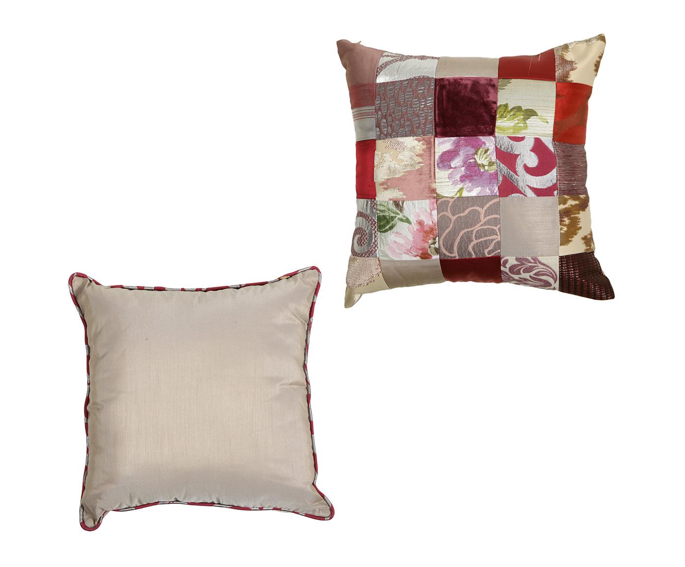 Комплект подушек ПэчворкКвадратные подушки и наволочки<br>Комплект декоративных  подушек. Чехол съемный.<br><br>Material: Хлопок<br>Width см: 45<br>Depth см: 15<br>Height см: 45
