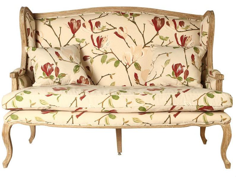ДиванеткаДвухместные диваны<br>&amp;lt;div&amp;gt;Миловидная диванетка подойдет для романтичного интерьера в мягких, пастельных тонах. Чехол для подушки-сиденья и обивка выполнены из хлопковой ткани с крупным цветочным принтом в приглушенных тонах. Элементы каркаса и ножки изготовлены из ценного красного дерева.&amp;lt;/div&amp;gt;&amp;lt;div&amp;gt;&amp;lt;br&amp;gt;&amp;lt;/div&amp;gt;<br><br>Material: Текстиль<br>Length см: 150<br>Width см: 80<br>Depth см: None<br>Height см: 104<br>Diameter см: None