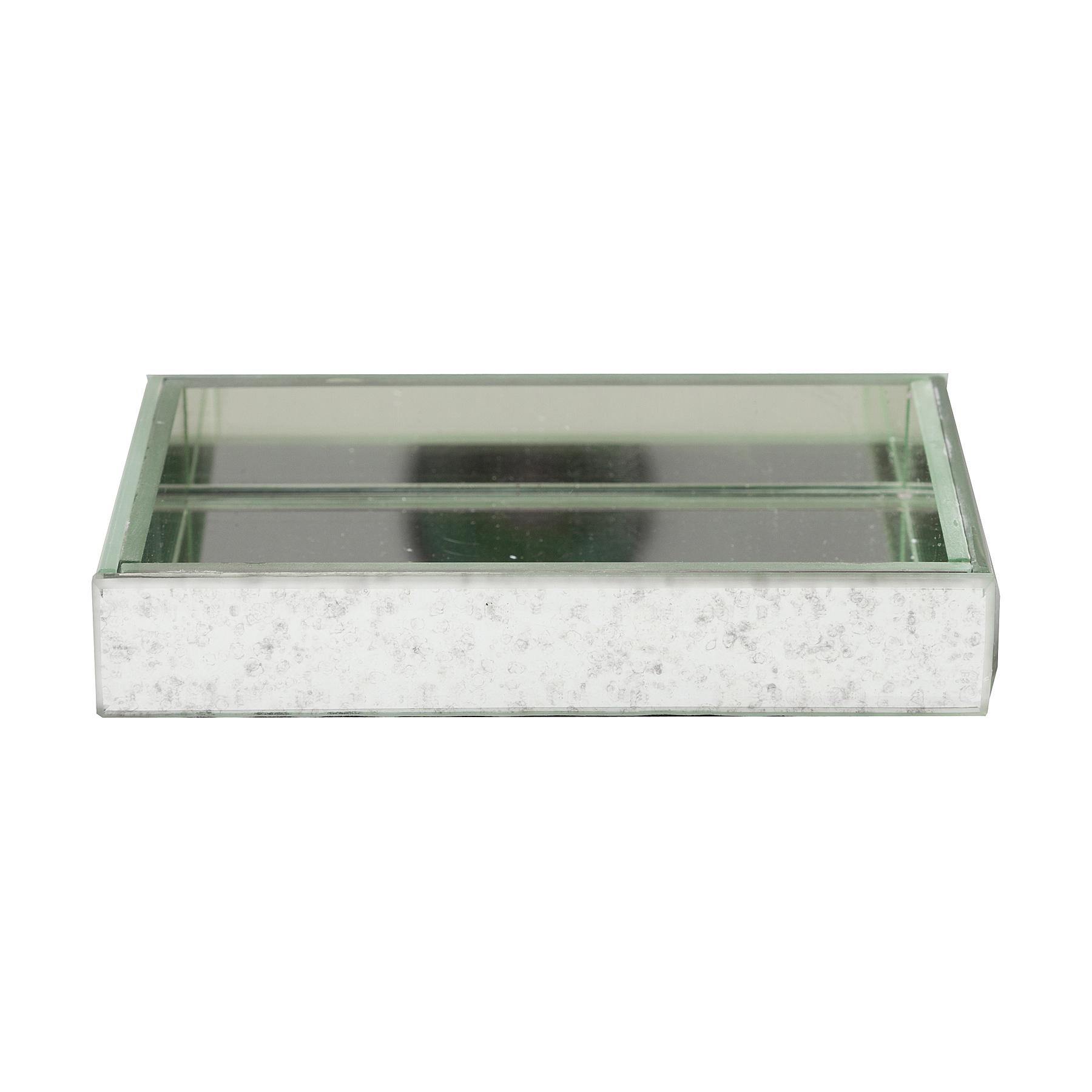 Подставка для мыла BondyАксессуары для ванной<br><br><br>Material: Стекло<br>Width см: 14,5<br>Depth см: 9,5<br>Height см: 2,5