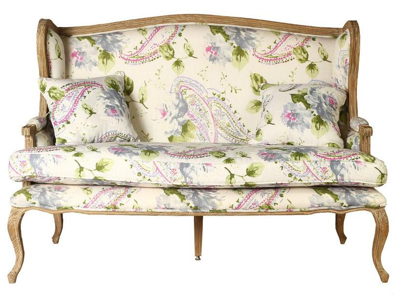 ДиванеткаДвухместные диваны<br>&amp;lt;div&amp;gt;Эта красивейшая диванетка в романтичном стиле оббита хлопковой тканью с ультрамодным узором пейсли. Рисунок выполнен в нежной гамме, а &amp;quot;турецкие огурцы&amp;quot; изысканно сочетаются с крупными цветами. Резные ножки и декор выточены из красного дерева.&amp;lt;/div&amp;gt;&amp;lt;div&amp;gt;&amp;lt;br&amp;gt;&amp;lt;/div&amp;gt;<br><br>Material: Текстиль<br>Length см: 150<br>Width см: 80<br>Depth см: None<br>Height см: 104<br>Diameter см: None