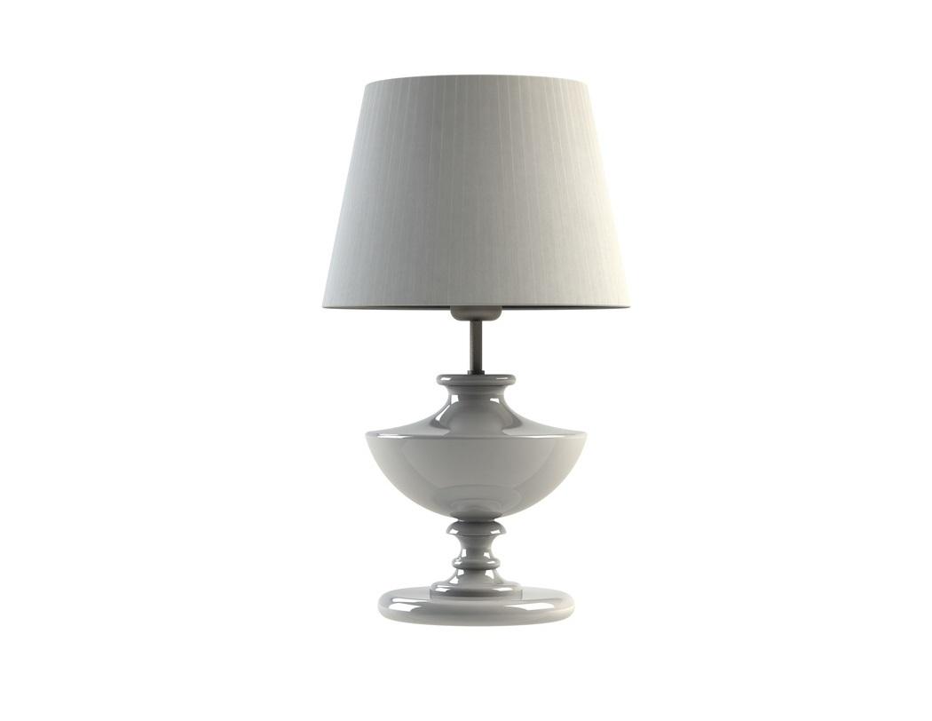 Настольная лампа Quan whiteДекоративные лампы<br>Материал: абажур — металлический каркас, лента органза; арматура — дерево, сталь нержавеющая.<br>Цоколь:1хЕ27<br>Мощность: мах КЛЛ 20 w, 220 в, шнур с выключателем.<br>Цвет: белый<br><br>Срок изготовления: 2-3 недели<br><br>Material: Дерево<br>Length см: 30.0<br>Width см: 30.0<br>Depth см: 30.0<br>Height см: 50.0<br>Diameter см: 30.0