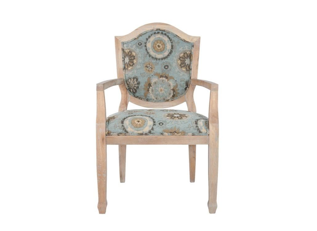 Стул OranСтулья с подлокотниками<br>Это кресло привнесет изюминку в ваш интерьер! Кресло имеет спокойную и приятную обивку и выполнено оно из ценной породы древесины. Подарите себе роскошь обладания этим замечательным креслом!&amp;amp;nbsp;<br><br>Material: Дуб<br>Ширина см: 60<br>Высота см: 97<br>Глубина см: 56