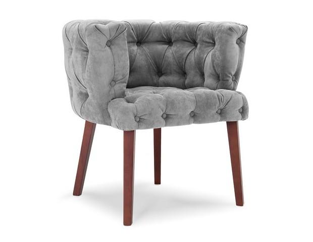 Кресло ФинляндПолукресла<br>Ломаем стереотипы! Форма этого кресла типично скандинавская: удлиненные ножки и невысокая спинка, объединенная с подлокотниками. Но мягкий велюр делает его по-французски роскошным. &amp;amp;nbsp;<br><br>Material: Текстиль<br>Length см: None<br>Width см: 72.0<br>Depth см: 58.0<br>Height см: 73.0<br>Diameter см: None