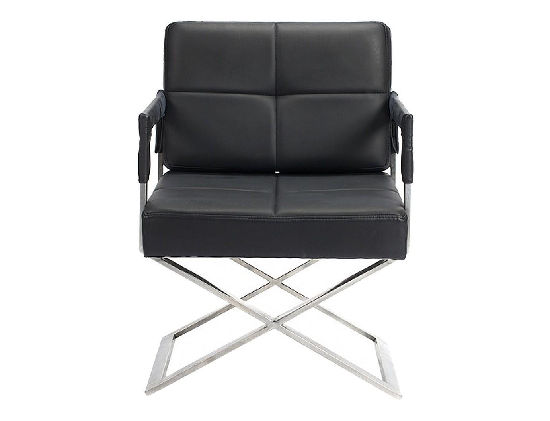 Кресло  Aster XКожаные кресла<br>Форма модели напоминает знаменитые «кресла режиссера». Судя по люксовым материалам, это кресло подойдет профессионалу никак не ниже уровня Федерико Феллини.<br><br>Материал: обивка - кожа, поролон, ножки из нержавеющей стали<br>Вес: 30 кг<br><br>Material: Кожа<br>Length см: None<br>Width см: 55.0<br>Depth см: 66.0<br>Height см: 89.0<br>Diameter см: None