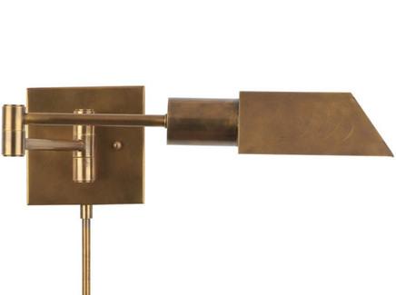 Бра (gramercy) бронзовый 40x77x16 см.