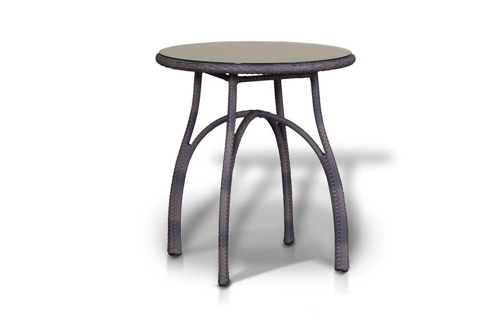 Стол ФорлиКофейные столики<br>Стол со стеклянной столешницой толщиной 5мм.&amp;lt;div&amp;gt;&amp;lt;br&amp;gt;&amp;lt;/div&amp;gt;&amp;lt;div&amp;gt;Материалы: алюминиевый каркас, искусственный ротанг&amp;lt;/div&amp;gt;<br><br>Material: Металл<br>Width см: None<br>Height см: 75<br>Diameter см: 70