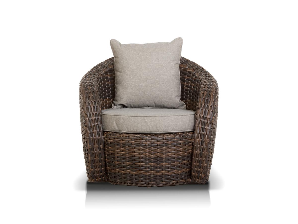 Кресло АвелаКресла и стулья для дачного дома<br>в комплекте с подушкой<br><br>Material: Ротанг<br>Width см: 85<br>Depth см: 74<br>Height см: 86,5