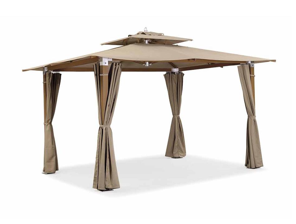 Шатер ЛациоТенты и зонты<br>Шатер уличный в разобранном виде, стойки выполненны из дерева с алюминиевыми вставками.<br><br>Material: Текстиль<br>Length см: None<br>Width см: 300<br>Depth см: 300<br>Height см: 300<br>Diameter см: None