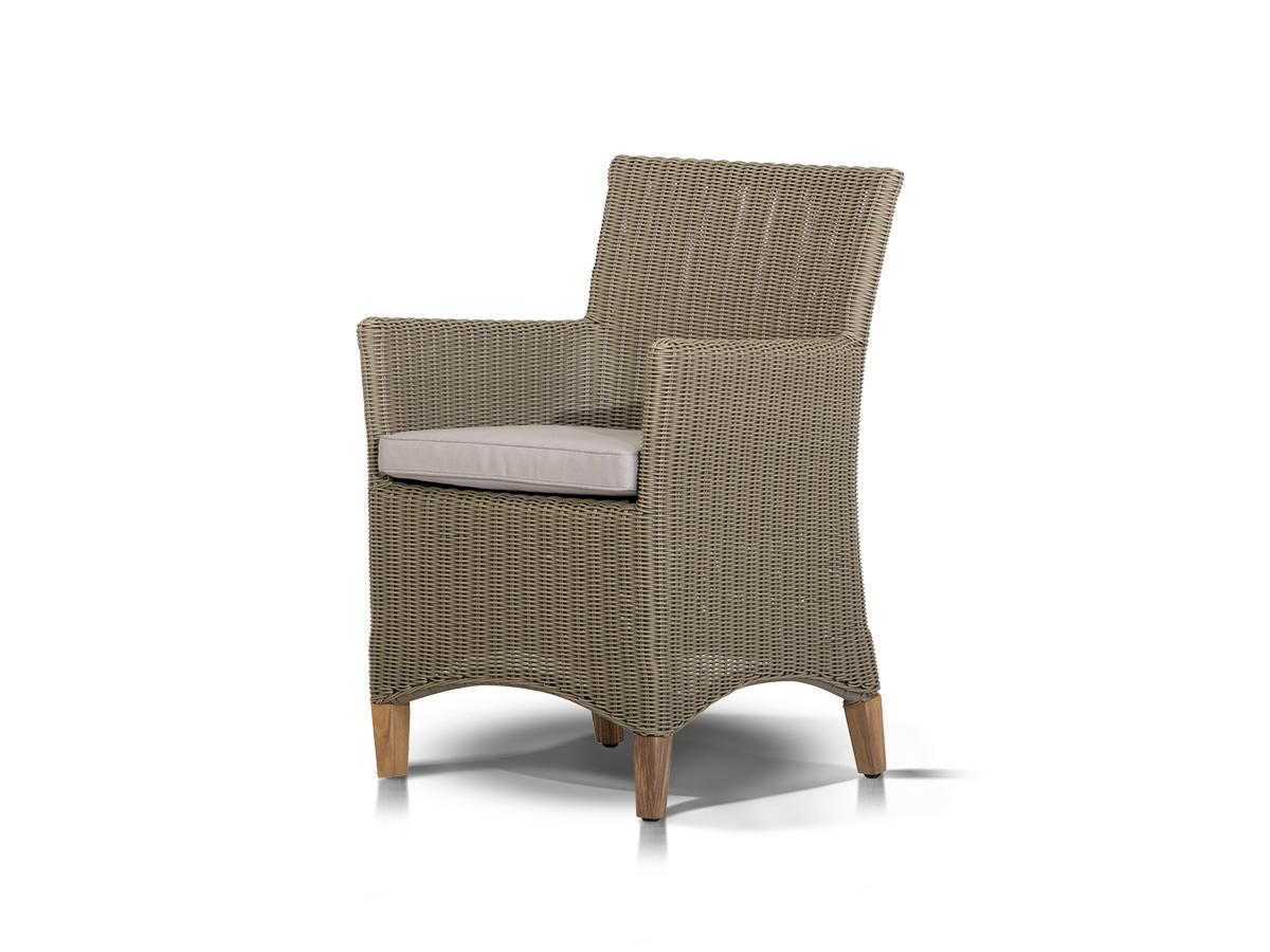 Кресло ПестумКресла для сада<br>Кресло с подушкой, алюминиевый каркас, искусственный ротанг.<br><br>Material: Искусственный ротанг<br>Ширина см: 57<br>Высота см: 85