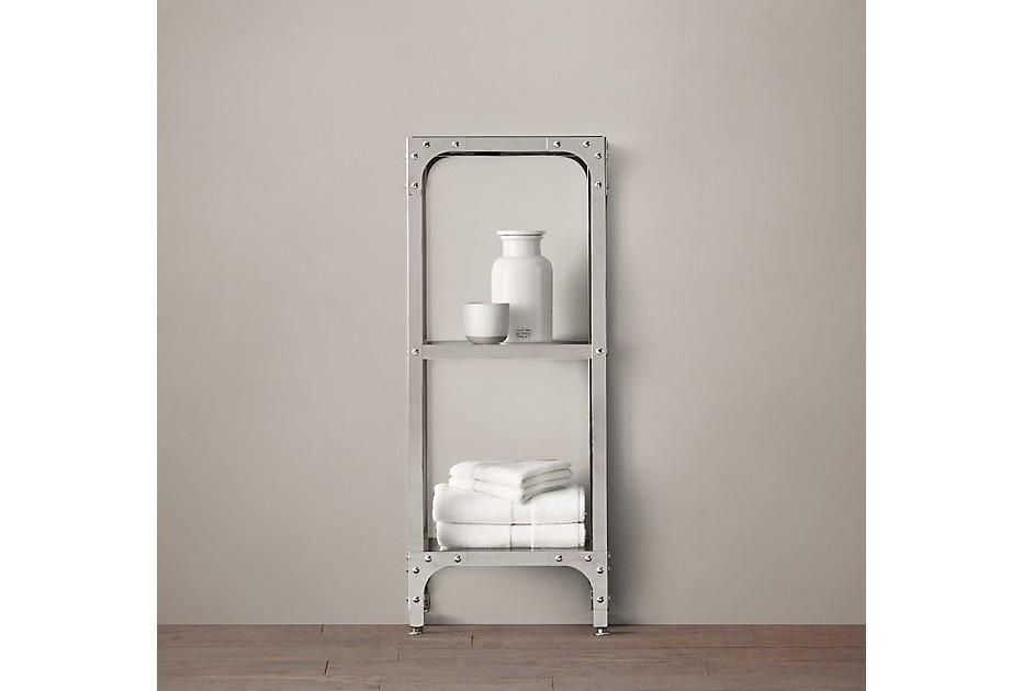 Стеллаж INDUSTRIALСтеллажи и этажерки<br>Стеллаж для ванной ручной работы из металла и полками  из закаленного стекла.  Каждый элемент этого стола уникален.&amp;amp;nbsp;&amp;lt;div&amp;gt;&amp;lt;br&amp;gt;&amp;lt;/div&amp;gt;&amp;lt;div&amp;gt;Гарантия: от производителя 1 год<br>Гарантия от производителя&amp;amp;nbsp;&amp;lt;/div&amp;gt;&amp;lt;div&amp;gt;&amp;lt;span style=&amp;quot;line-height: 1.78571;&amp;quot;&amp;gt;Более точную информацию уточняйте у менеджера.&amp;lt;/span&amp;gt;&amp;lt;br&amp;gt;&amp;lt;/div&amp;gt;<br><br>Material: Металл<br>Length см: None<br>Width см: 35<br>Depth см: 31<br>Height см: 87<br>Diameter см: None