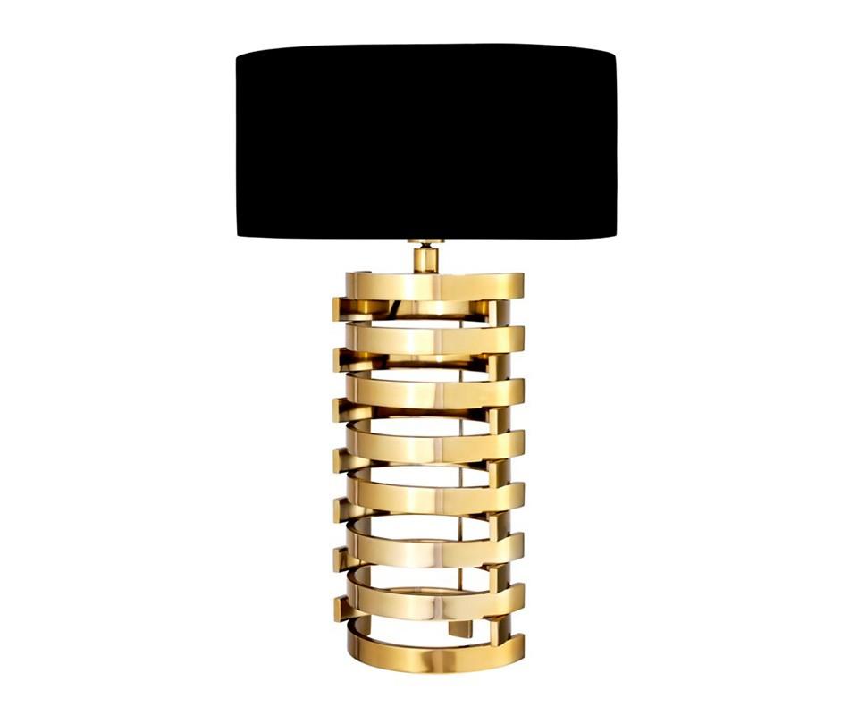 Настольная лампаДекоративные лампы<br>Текстильный абажур черного цвета скрывает лампу.&amp;lt;div&amp;gt;&amp;lt;br&amp;gt;&amp;lt;/div&amp;gt;&amp;lt;div&amp;gt;&amp;lt;div&amp;gt;Цоколь: E27&amp;lt;/div&amp;gt;&amp;lt;div&amp;gt;Мощность: 40W&amp;lt;/div&amp;gt;&amp;lt;div&amp;gt;Количество ламп: 1&amp;lt;/div&amp;gt;&amp;lt;/div&amp;gt;<br><br>Material: Металл<br>Width см: 50<br>Depth см: 50<br>Height см: 74<br>Diameter см: None