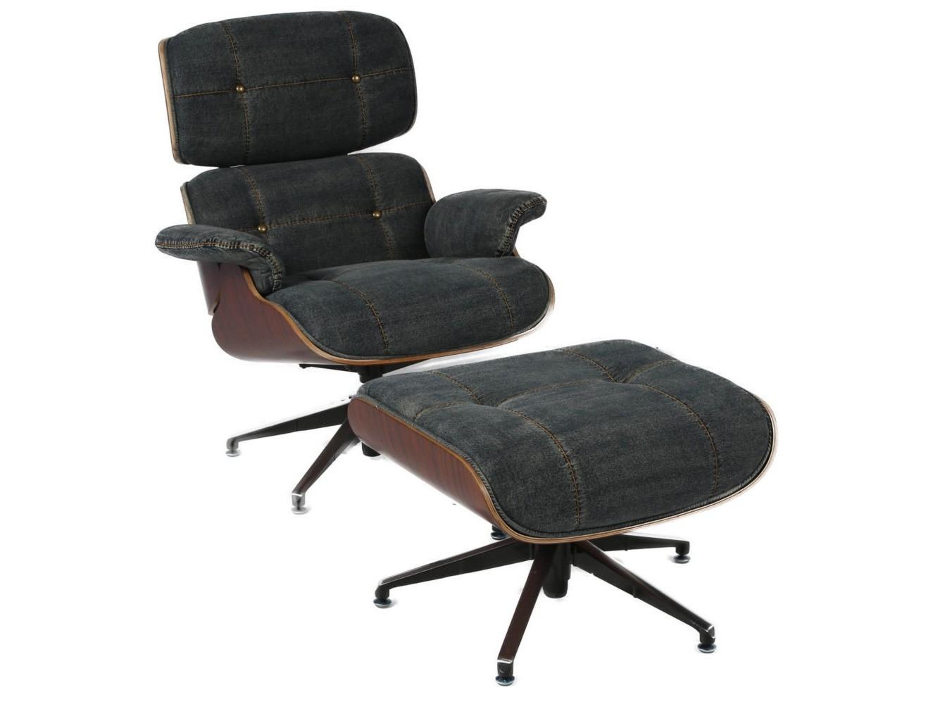 Кресло+пуфРабочие кресла<br><br><br>Material: Джинса<br>Width см: 82<br>Depth см: 87<br>Height см: 91