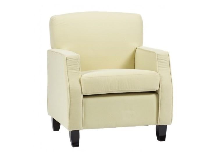 Кресло LloydИнтерьерные кресла<br>Стильное и эффектное кресло, выполненное в стиле ар-деко 60-х, завораживает простотой форм и повторяющимся геометрическим мотивом. Надежным основанием и одновременно удобными подлокотниками служат две прямоугольные рамы, к которым крепятся мягкое квадратное сидение и прямоугольная спинка.<br><br>Цвет: молочный<br><br>Material: Велюр<br>Length см: None<br>Width см: 65.0<br>Depth см: 70.0<br>Height см: 82.0<br>Diameter см: None