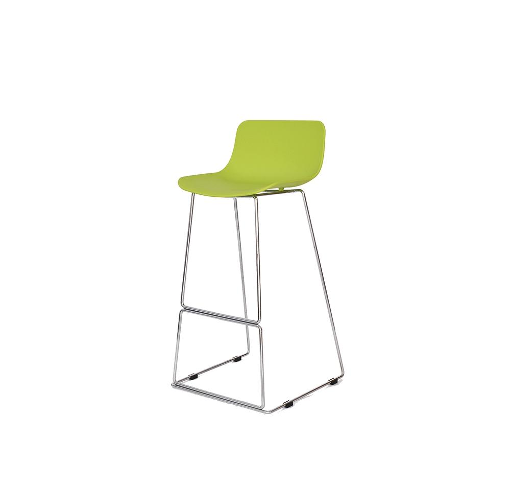 Стул барный CT-398 лаймБарные стулья<br><br><br>Material: Пластик<br>Ширина см: 48<br>Высота см: 100<br>Глубина см: 49