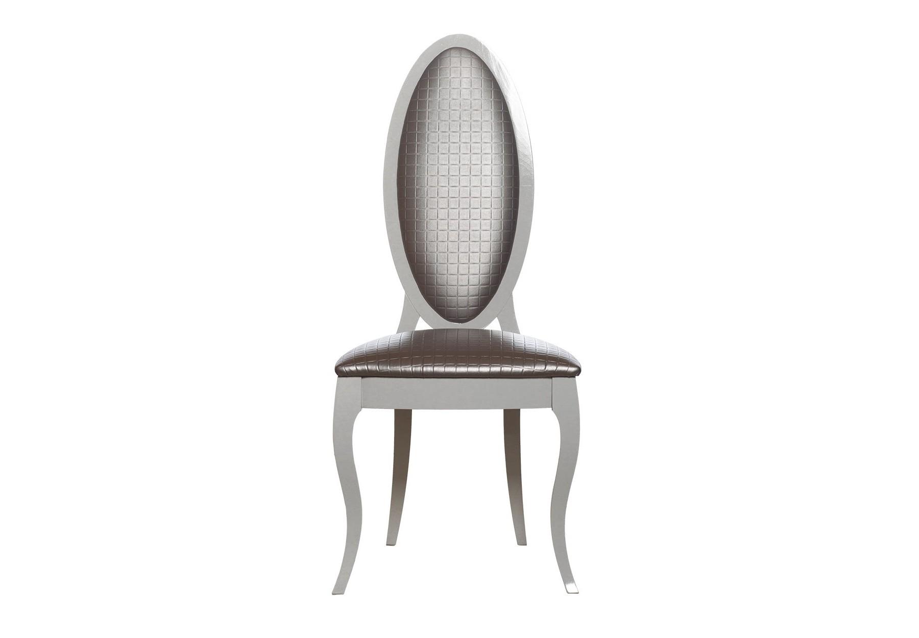 СтулОбеденные стулья<br>Материалсинтетическая ткань, дерево<br>обивка - серо-бежевый перламутр,<br>ножки - белый лак<br>113x48x50x44<br><br>Material: Текстиль<br>Ширина см: 44<br>Высота см: 113