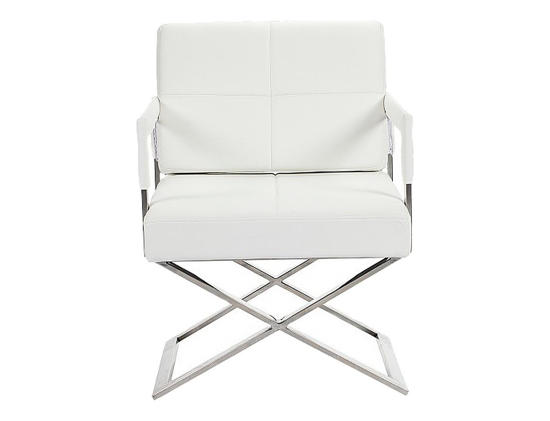 Задвоение Кресло  Aster XКожаные кресла<br>Форма модели напоминает знаменитые «кресла режиссера». Судя по люксовым материалам, это кресло подойдет профессионалу никак не ниже уровня Федерико Феллини. Натуральная итальянская кожа premium-класса, поролон, металлический каркас, ножки из нержавеющей стали.<br><br>Материал: экокожа, поролон, ножки из нержавеющей стали<br>Обивка: экокожа<br>Вес: 30 кг<br><br>Material: Кожа<br>Length см: None<br>Width см: 55.0<br>Depth см: 66.0<br>Height см: 89.0<br>Diameter см: None