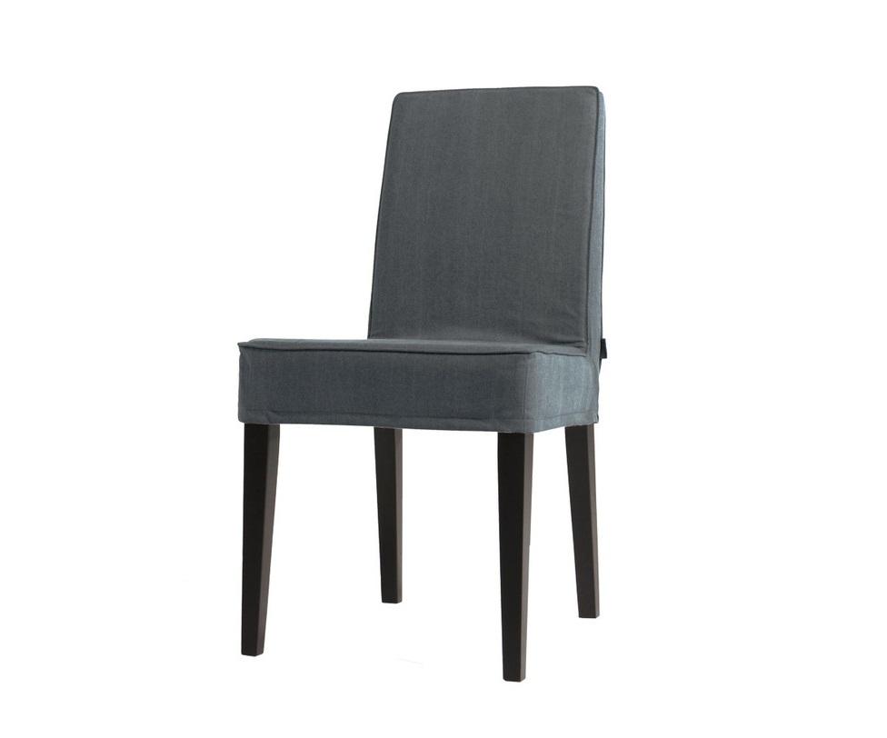 Стул SoniaОбеденные стулья<br>Простая, лаконичная конструкция стула&amp;amp;nbsp;&amp;quot;Sonia&amp;quot; позволяет ему выглядеть изысканно и благородно. Сиденье приглушенного серого цвета не отличается излишней вычурностью, но смотрится роскошно. Возвышающееся на прямых ножках темной гаммы, оно покоряет своей аристократичностью. Ее удалось добиться благодаря классическому американскому стилю, в котором выполнен обеденный стул.&amp;amp;nbsp;<br><br>Material: Текстиль<br>Ширина см: 50<br>Высота см: 92<br>Глубина см: 54