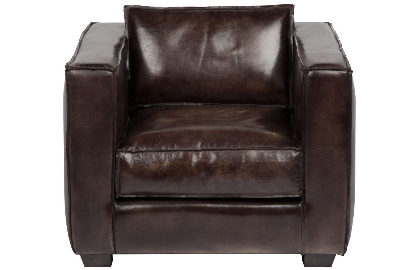 Кресло CollinКожаные кресла<br><br><br>Material: Кожа<br>Ширина см: 85<br>Высота см: 63<br>Глубина см: 80