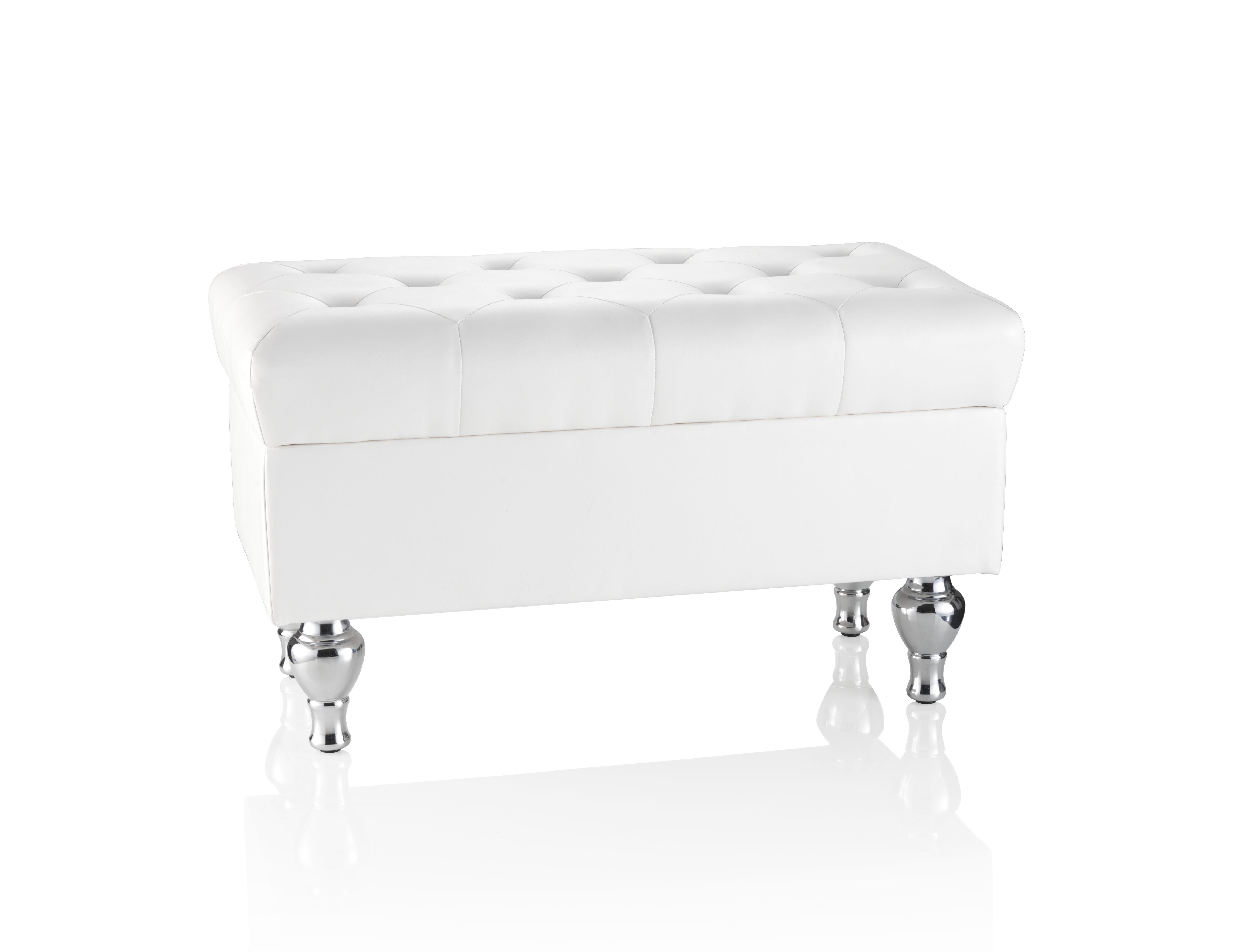 Пуф CapitonneКожаные пуфы<br>Пуф &amp;quot;Capitonne&amp;quot; полностью отвечает требованиям самого искушенного потребителя и его мечтам о хорошей мебели. Внутри пуфа находится вместительный ящик для хранения, что поможет Вам сохранить пространство в помещении. Пуф прекрасно впишется в прихожую, в спальню или в гостиную.&amp;amp;nbsp;<br><br>Material: Кожа<br>Width см: 84<br>Depth см: 43<br>Height см: 46