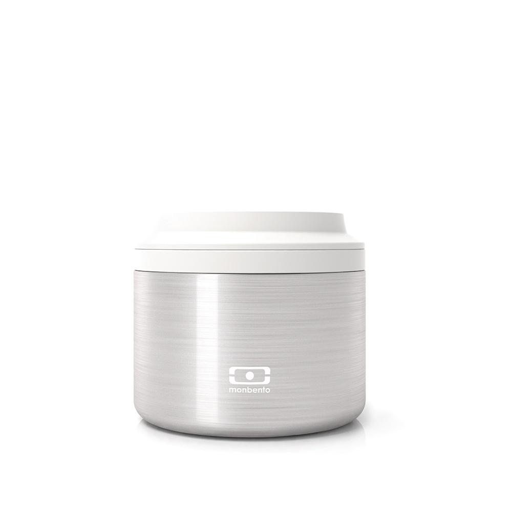Контейнер для еды Element sЕмкости для хранения<br>Ланч-бокс MB Element создан специально для тех, кто проводит каждую секунду в движении – в непрерывных разъездах по городу или наедине с природой. Неважно, как далеко вы идете, ваши блюда останутся горячими или холодными в течение 5 часов, чтобы в любой момент наполнить вас нужной энергией. О холодильнике и микроволновке можно забыть!<br>Компактный дизайн позволит хранить ланч-бокс в чемодане, рюкзаке или сумочке, что идеально как для путешествий, так и для каждодневных прогулок. <br>Элегантный, современный и невероятно легкий ланч-бокс MB Element – ваш новый помощник в любых ситуациях!<br>Объем 0,65 литра.  Полностью герметичен и пригоден для мытья в посудомоечной машине.<br><br>Material: Металл<br>Height см: 7<br>Diameter см: 13