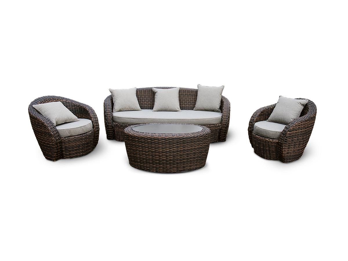 Лаунж зона АвелаКомплекты уличной мебели<br>&amp;lt;div&amp;gt;Лаунж зона из искусственного ротанга: 1 трехместный диван, 2 кресла и кофейный столик со стеклянной столешницей.&amp;amp;nbsp;&amp;lt;/div&amp;gt;&amp;lt;div&amp;gt;&amp;lt;br&amp;gt;&amp;lt;/div&amp;gt;&amp;lt;div&amp;gt;Алюминиевый каркас, искусственный ротанг, ручное плетение.&amp;amp;nbsp;&amp;lt;/div&amp;gt;&amp;lt;div&amp;gt;Диван и кресла оснащены подушками со съемными чехлами.&amp;amp;nbsp;&amp;lt;/div&amp;gt;&amp;lt;div&amp;gt;Диван: 204х88х74,5.&amp;amp;nbsp;&amp;lt;/div&amp;gt;&amp;lt;div&amp;gt;Кресло: 83х83х75.&amp;amp;nbsp;&amp;lt;/div&amp;gt;&amp;lt;div&amp;gt;Кофейный столик: 107х62х46&amp;lt;/div&amp;gt;<br><br>Material: Ротанг<br>Width см: 204<br>Depth см: 88<br>Height см: 74,5