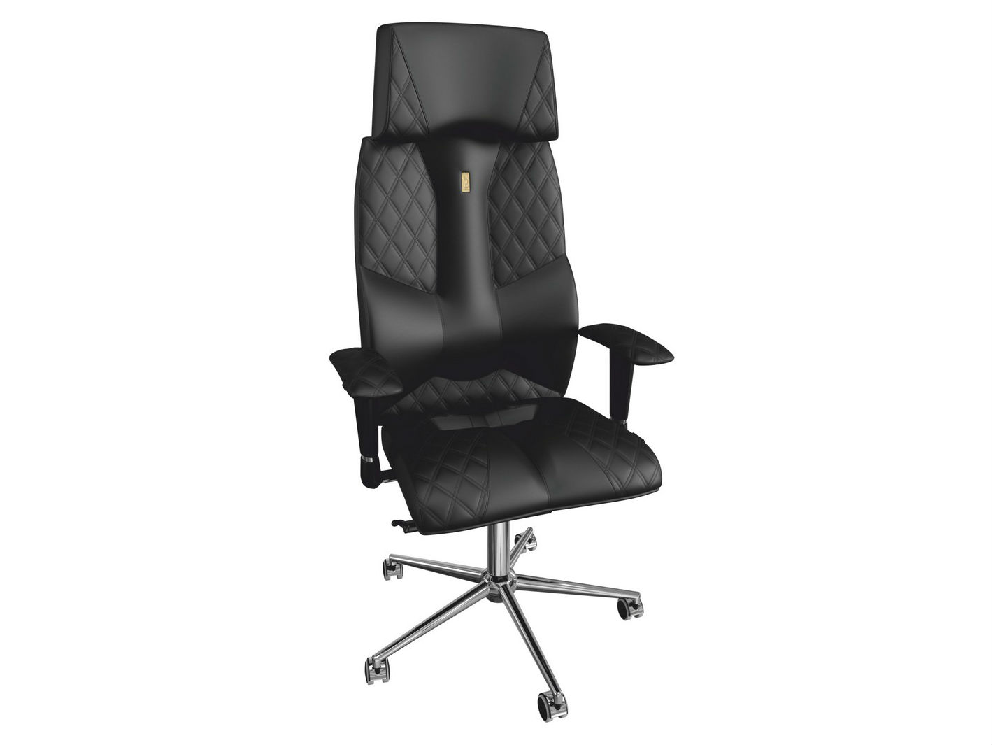 Кресло BUSINESSРабочие кресла<br>Совершенное сочетание элегантного дизайна и превосходного удобства. Благодаря особой спинке, которая поддерживает вас, и мягким регулируемым подлокотникам, это кресло способно создавать особую атмосферу комфорта на рабочем месте.&amp;amp;nbsp;<br><br>Material: Кожа<br>Ширина см: 72<br>Высота см: 149<br>Глубина см: 54