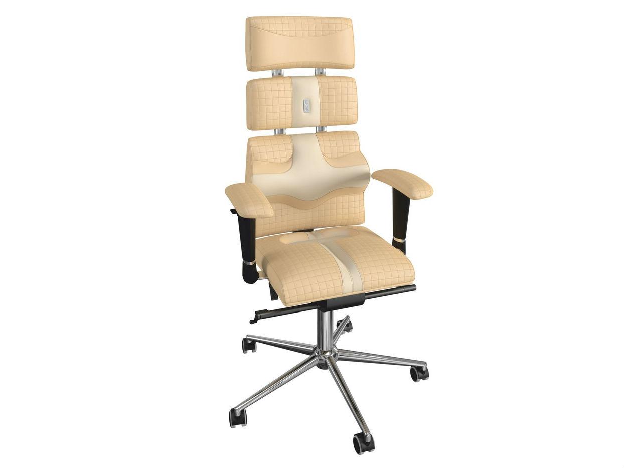 Кресло PYRAMIDРабочие кресла<br>Смелое сочетание дизайнерской задумки и научной разработки профессиональных реабилитологов. Модель имеет специальную пирамидальную форму, благодаря которой кресло способно не только защищать позвоночник от нагрузок, но и эффективно корректировать осанку.&amp;amp;nbsp;<br><br>Material: Кожа<br>Length см: None<br>Width см: 63<br>Depth см: 54<br>Height см: 133<br>Diameter см: None