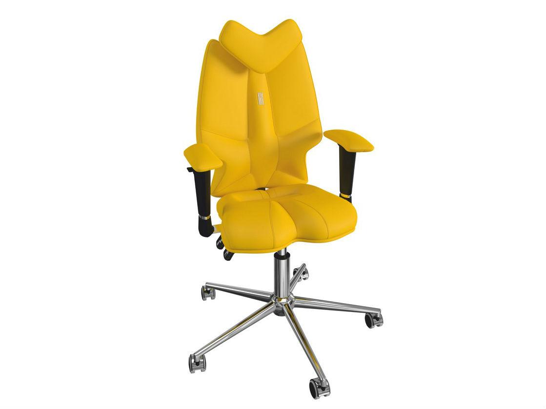 Кресло FLYРабочие кресла<br>Эта яркая и необычная модель заметно выделяется из массы привычных для нас кресел. Его оригинальный контур и насыщенная расцветка не могут остаться незамеченными, а специальная эргономичная форма кресла создана для того, что бы защищать детскую осанку от искривлений.&amp;amp;nbsp;<br><br>Material: Кожа