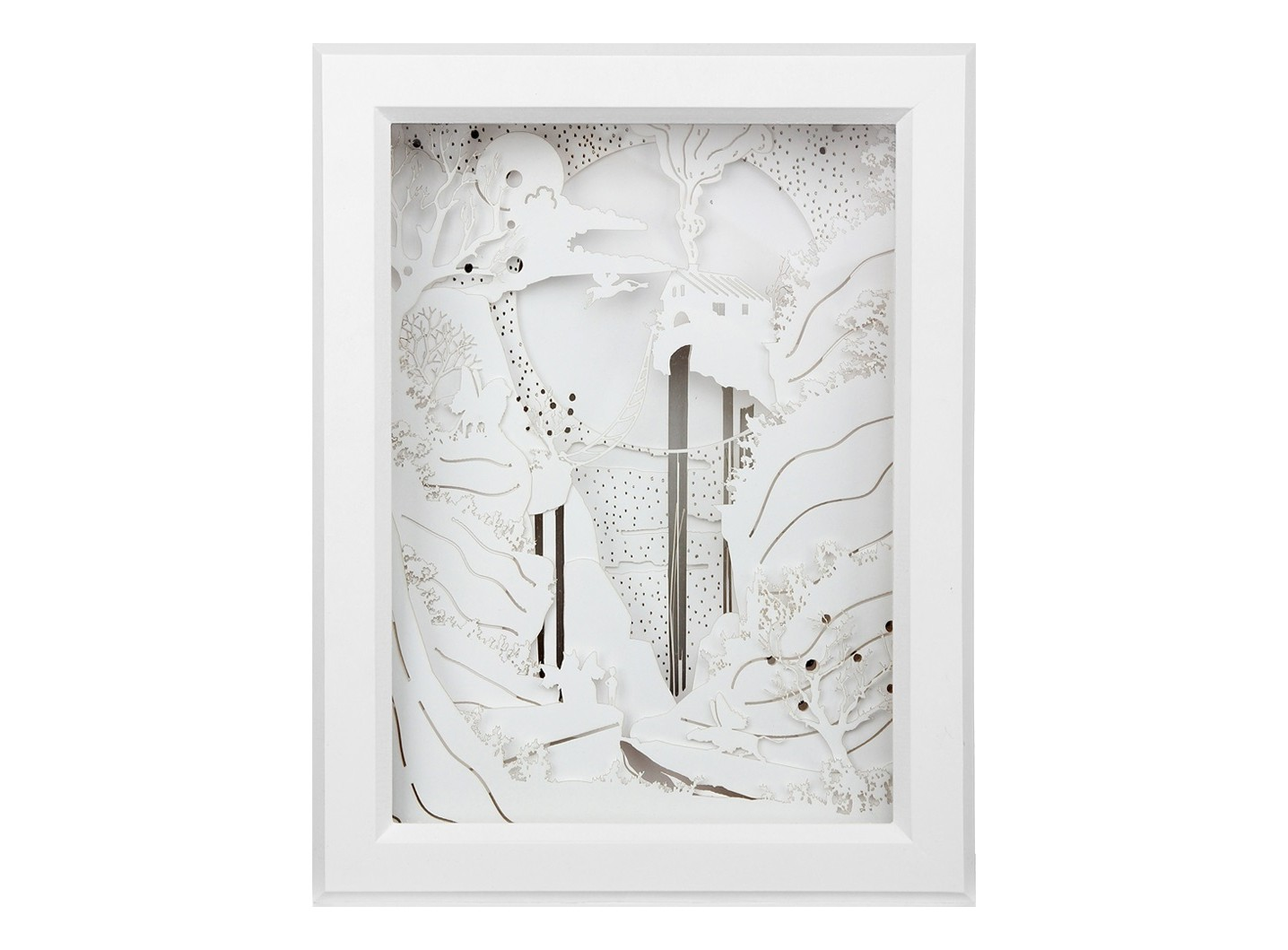 Световая диорама ВодопадБра<br>Световая диорама это картина-ночник. Рисунок диорамы состоит из 12 слоев, вырезанных из бумаги, и выстроен так, чтобы создавалась максимальная игра света и тени. <br>Корпус сделаен из МДФ и окрашен итальянским лаком. Диорама естественно вписывается в любые виды интерьеров. Есть крепление для подвеса на стену.&amp;amp;nbsp;&amp;lt;div&amp;gt;&amp;lt;br&amp;gt;&amp;lt;/div&amp;gt;&amp;lt;div&amp;gt;Материалы: МДФ, бумага, стекло&amp;lt;/div&amp;gt;&amp;lt;div&amp;gt;Подсветка LED - 24 W&amp;lt;/div&amp;gt;&amp;lt;div&amp;gt;Питание от сети 220В&amp;lt;/div&amp;gt;<br><br>Material: МДФ<br>Ширина см: 30<br>Высота см: 39<br>Глубина см: 8