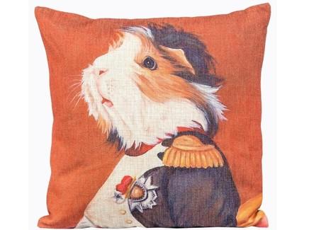 Арт-подушка музейный экспонат , версия 47 (object desire) оранжевый 45.0x15.0x15 см.