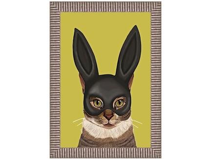 Арт-постер леди карнавал (object desire) мультиколор 50.0x70.0x4.0 см.