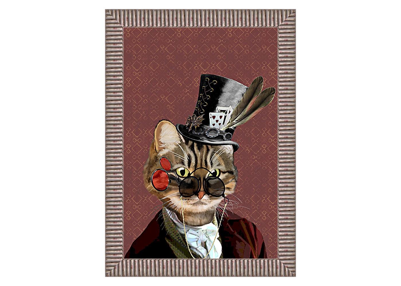Арт-постер Мистер КотПостеры<br>Дымчатое обрамление эффектно подчеркивает яркость забавной анималистической репродукции, в совершенстве владеющей зарядом интерьерного настроения. Картина &amp;quot;Мистер Кот&amp;quot; - желанное интерьерное украшение гостиной и детской комнат, столовой, спальни, кабинета, холла и прихожей, способное задать пространству яркий салонный стиль.&amp;lt;div&amp;gt;&amp;lt;br&amp;gt;&amp;lt;/div&amp;gt;&amp;lt;div&amp;gt;&amp;lt;br&amp;gt;&amp;lt;/div&amp;gt;&amp;lt;div&amp;gt;&amp;lt;br&amp;gt;&amp;lt;/div&amp;gt;&amp;lt;div&amp;gt;&amp;lt;br&amp;gt;&amp;lt;/div&amp;gt;&amp;lt;div&amp;gt;&amp;lt;br&amp;gt;&amp;lt;/div&amp;gt;&amp;lt;div&amp;gt;&amp;lt;br&amp;gt;&amp;lt;/div&amp;gt;&amp;lt;div&amp;gt;&amp;lt;br&amp;gt;&amp;lt;/div&amp;gt;&amp;lt;div&amp;gt;&amp;lt;iframe width=&amp;quot;530&amp;quot; height=&amp;quot;315&amp;quot; src=&amp;quot;https://www.youtube.com/embed/3vitXSFtUrE&amp;quot; frameborder=&amp;quot;0&amp;quot; allowfullscreen=&amp;quot;&amp;quot;&amp;gt;&amp;lt;/iframe&amp;gt;&amp;lt;/div&amp;gt;<br><br>Material: Бумага<br>Ширина см: 50<br>Высота см: 70<br>Глубина см: 4